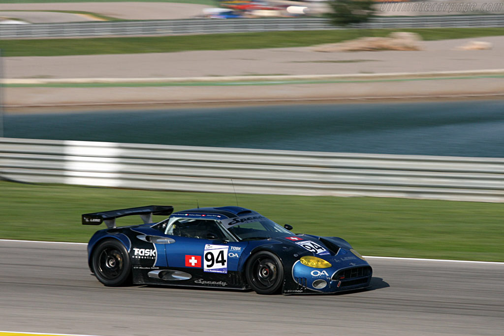 Spyker C8 Spyder GT2R - Chassis: XL9AB01G97Z363193 - Entrant: Speedy Racing Team  - 2007 Le Mans Series Valencia 1000 km