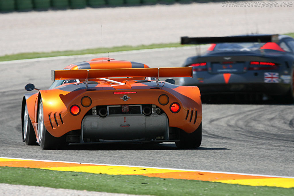 Spyker C8 Spyder GT2R - Chassis: XL9GB11H150363098 - Entrant: Spyker Squadron  - 2007 Le Mans Series Valencia 1000 km
