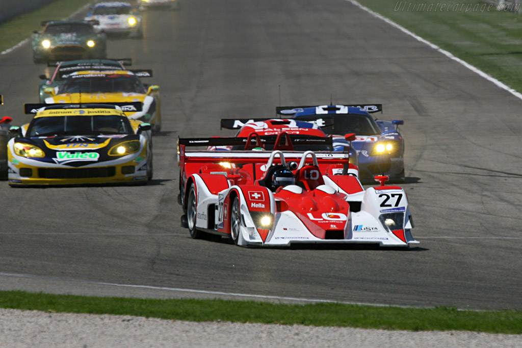 The Start - Chassis: B0540-HU06 - Entrant: Horag Racing  - 2007 Le Mans Series Valencia 1000 km