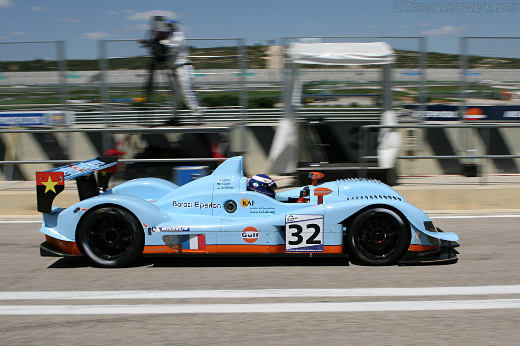 Vergers on his way to pole - Chassis: 07S-01 - Entrant: Barazi Epsilon  - 2007 Le Mans Series Valencia 1000 km