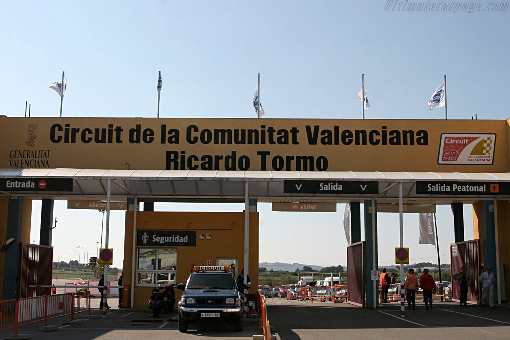 Welcome to Valencia    - 2007 Le Mans Series Valencia 1000 km