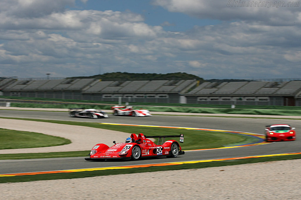 Welcome to Valencia - Chassis: 01 PB - Entrant: Pierre Bruneau  - 2007 Le Mans Series Valencia 1000 km