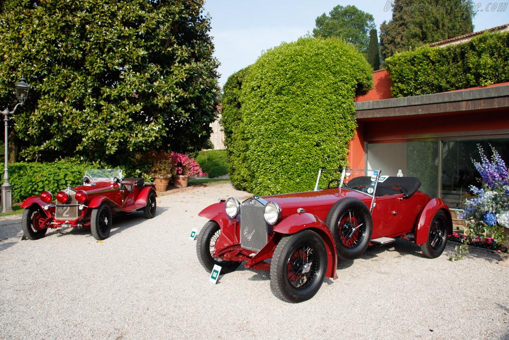 Alfa Romeo 6C 1500 SS Atcherley Tourer - Chassis: 0211351 - Entrant: David Atcherlery - 2019 Concorso d'Eleganza Villa d'Este