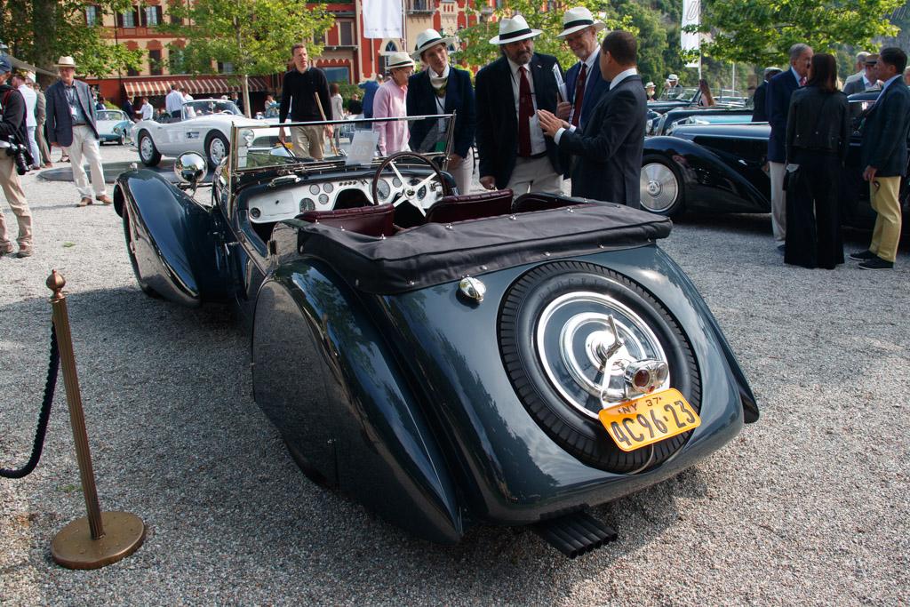 Bugatti Type 57 S Vanden Plas Four Seater Tourer - Chassis: 57541 - Entrant: Robert Kauffman - 2019 Concorso d'Eleganza Villa d'Este