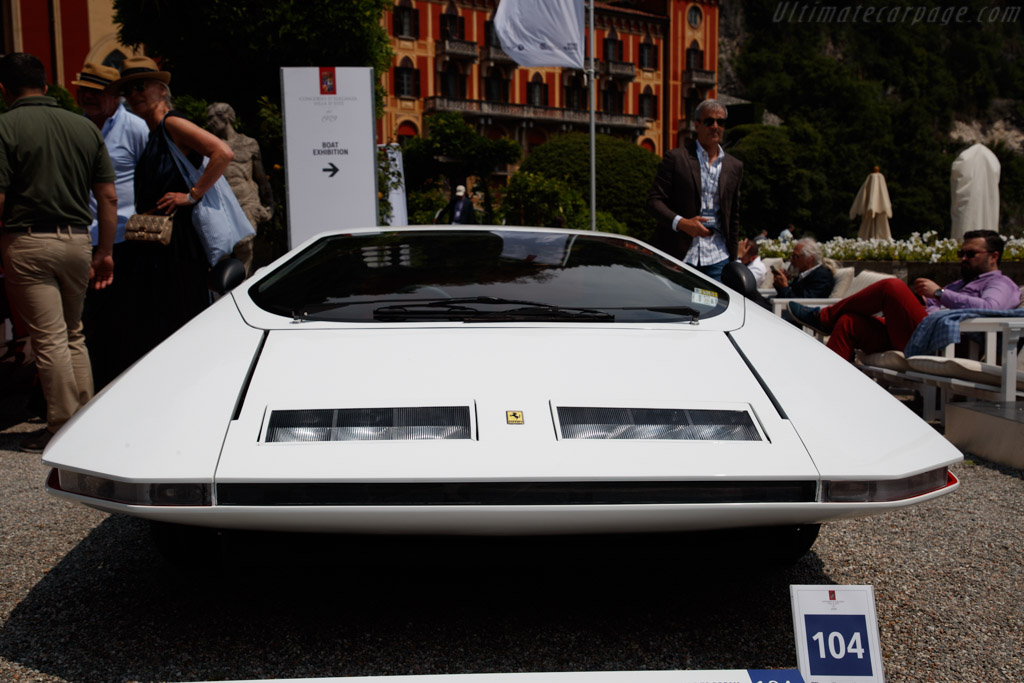 Ferrari 512 S Modulo - Chassis: 512S/27 - Entrant: James Glickenhaus - 2019 Concorso d'Eleganza Villa d'Este