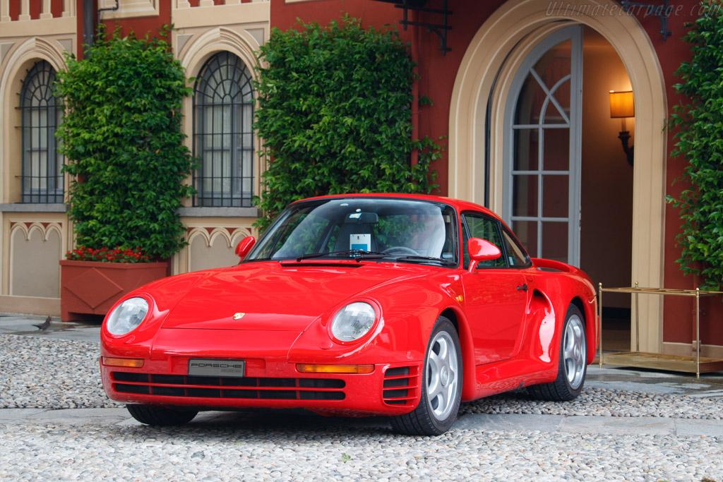 Porsche 959 - Chassis: WPOZZZ95ZJS900216  - Entrant: Giovanni Andrea Innocenti - 2019 Concorso d'Eleganza Villa d'Este