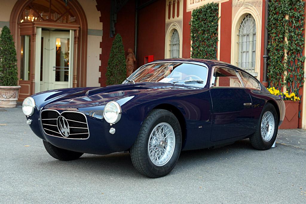 Maserati a6g 2000 zagato coupe chassis 2106 2006 concorso d 39 eleganza villa d 39 este