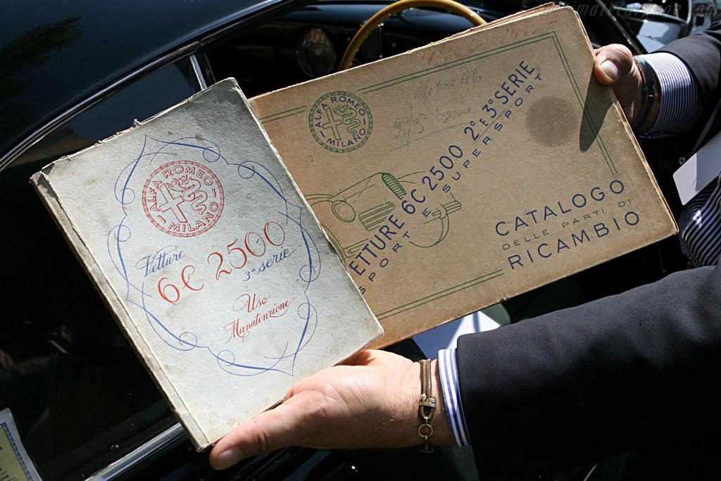 Alfa Romeo 6C 2500 SS Villa d'Este Coupe - Chassis: 915884   - 2006 Concorso d'Eleganza Villa d'Este