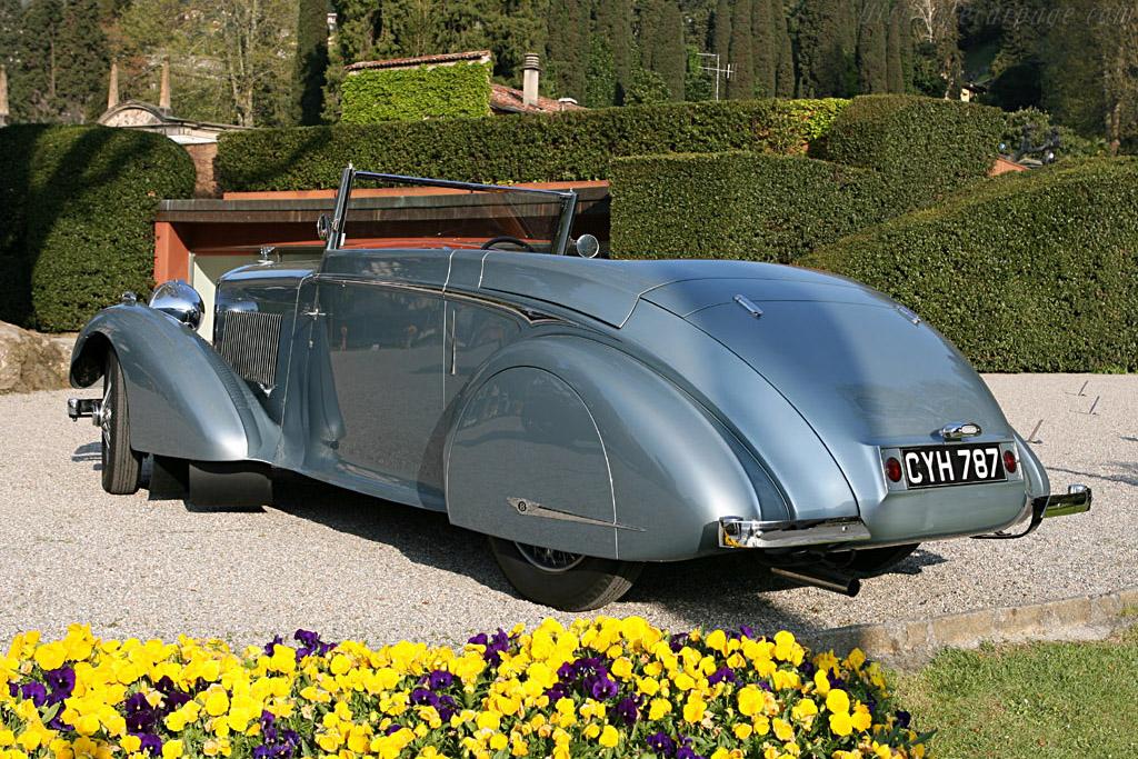 Bentley 4 1/4 Litre Mulliner Streamlined DHC    - 2006 Concorso d'Eleganza Villa d'Este