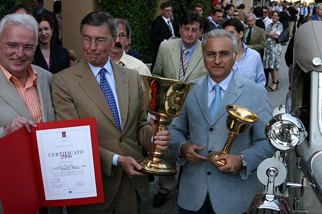 Copo d'Oro Villa d'Este    - 2006 Concorso d'Eleganza Villa d'Este