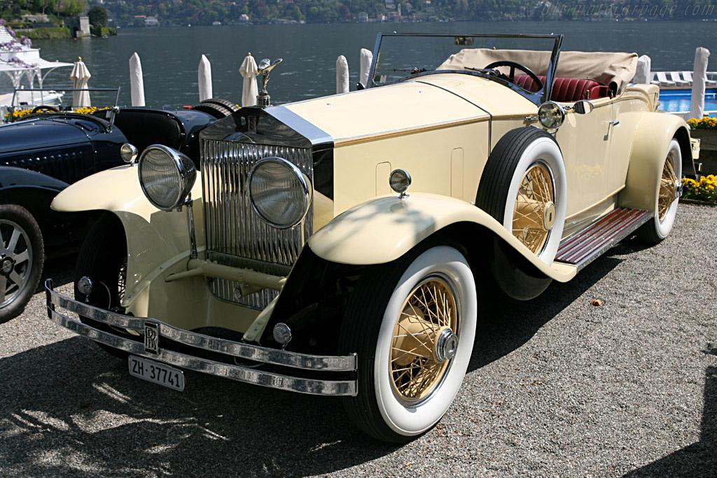 Rolls-Royce Phantom I Springfield Playboy Roadster    - 2006 Concorso d'Eleganza Villa d'Este