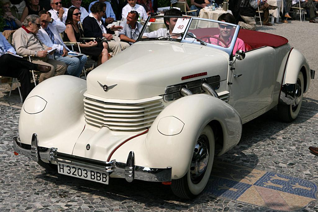 Cord 812 SC Cabriolet   - 2007 Concorso d'Eleganza Villa d'Este