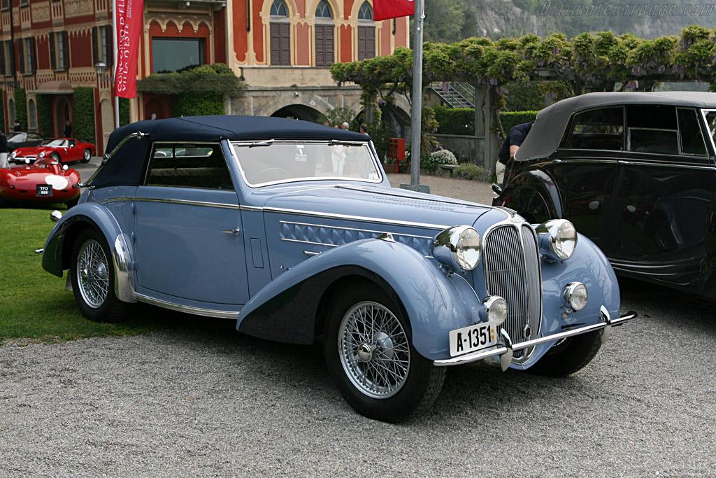 Delahaye 135 MS Chapron Cabriolet    - 2007 Concorso d'Eleganza Villa d'Este