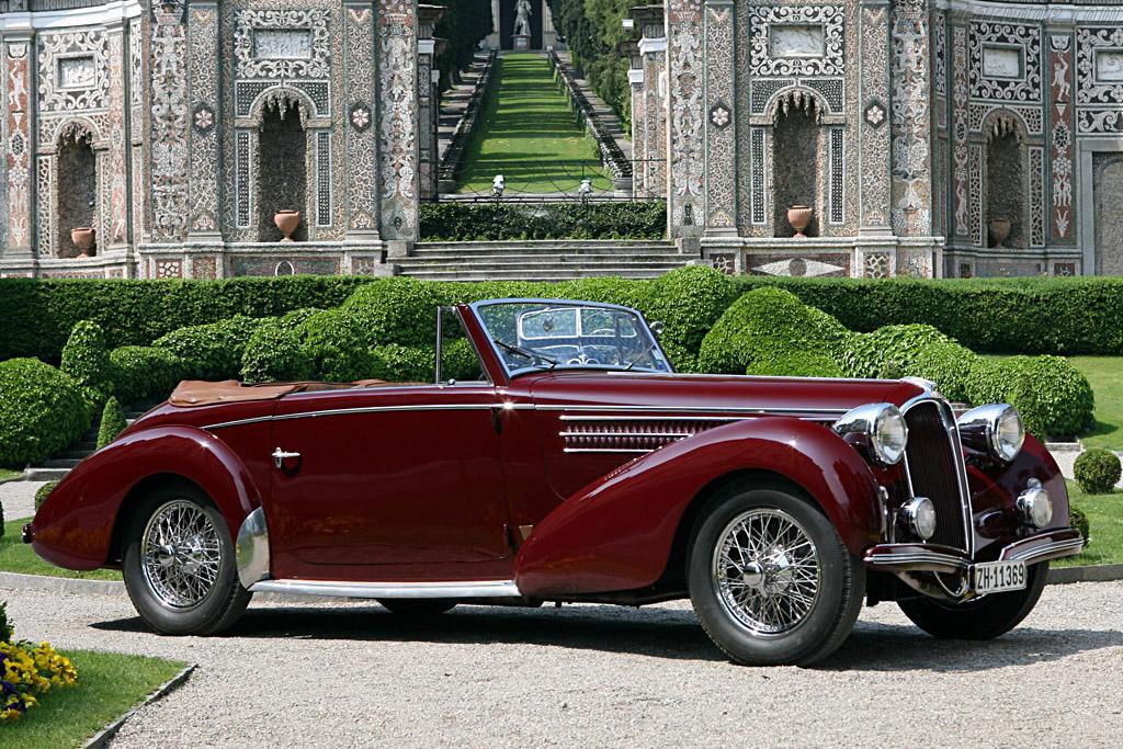Delahaye 135 MS Graber Cabriolet    - 2007 Concorso d'Eleganza Villa d'Este