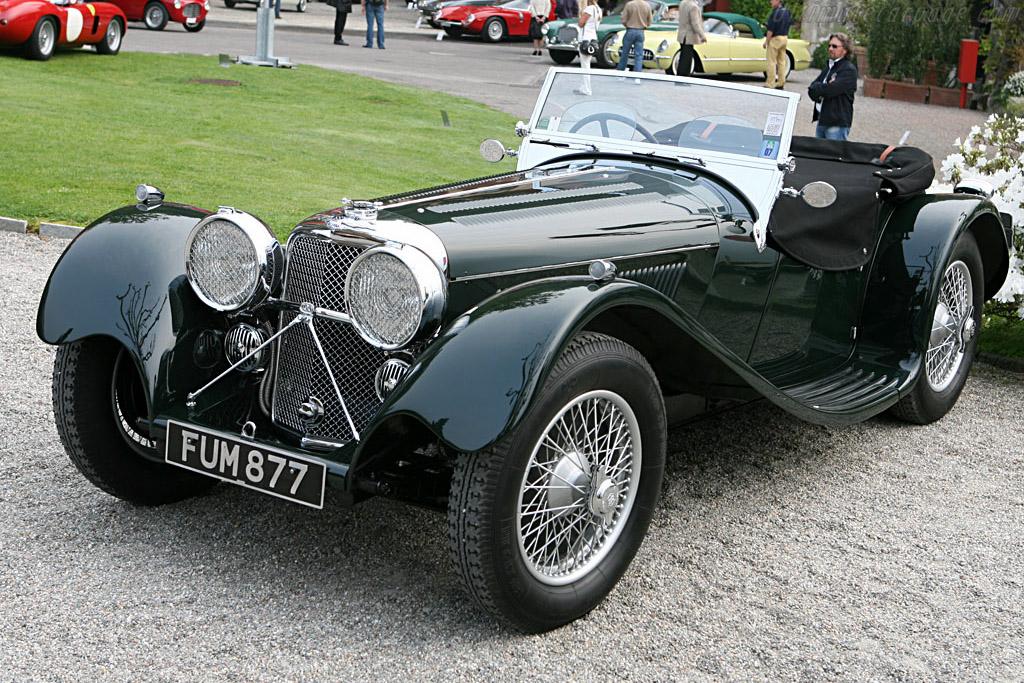 Jaguar SS 100   - 2007 Concorso d'Eleganza Villa d'Este