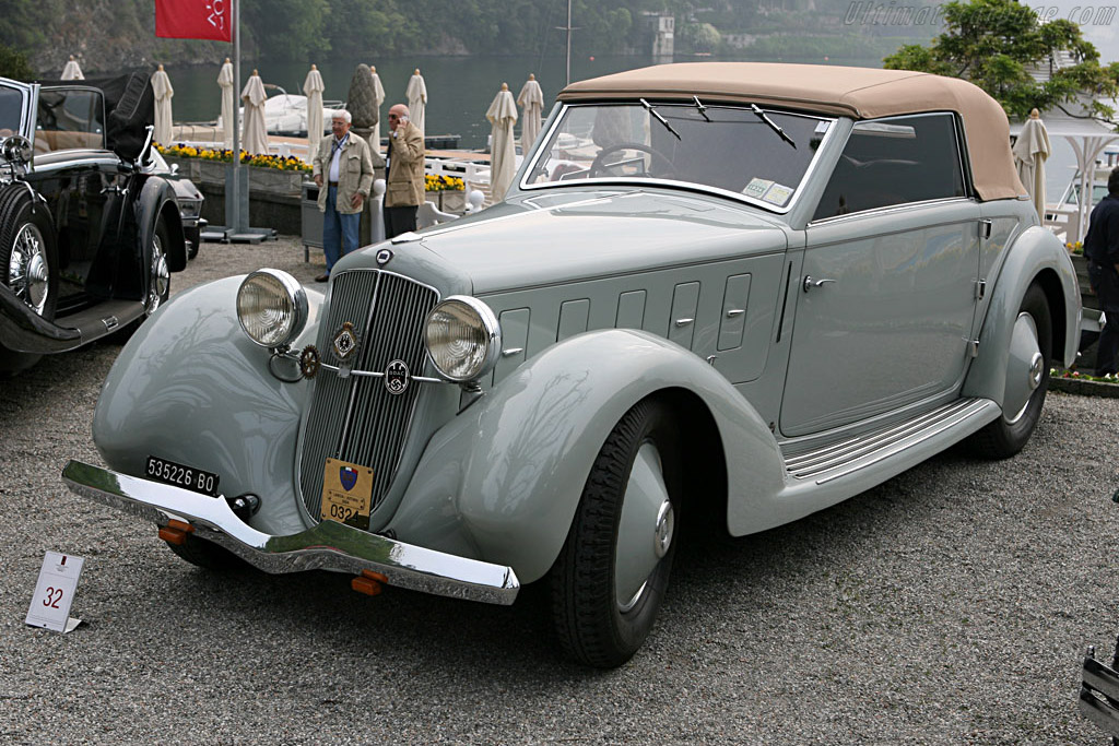 Lancia Astura Stablimenti Farina Cabriolet    - 2007 Concorso d'Eleganza Villa d'Este