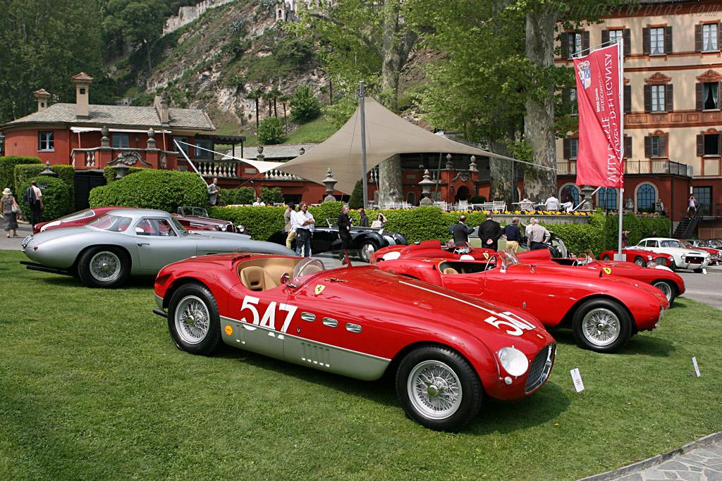 Racing Ferraris    - 2007 Concorso d'Eleganza Villa d'Este