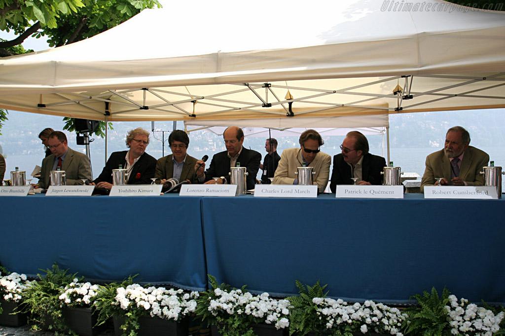 The Judges    - 2007 Concorso d'Eleganza Villa d'Este