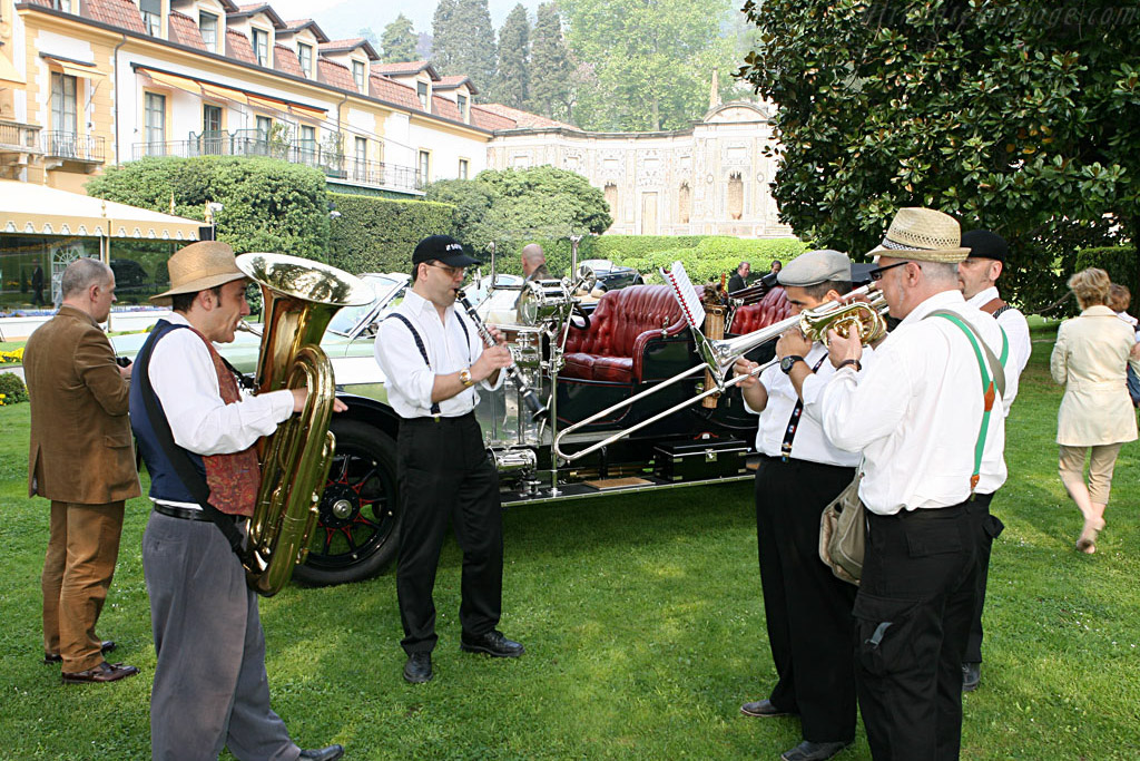 The band    - 2007 Concorso d'Eleganza Villa d'Este