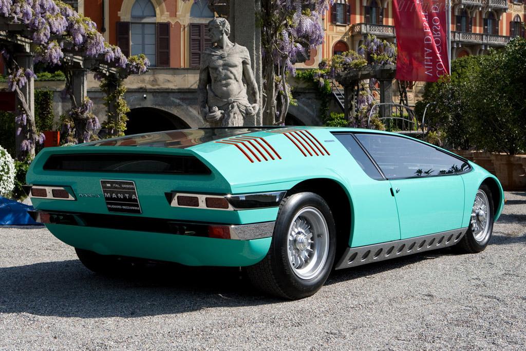 Bizzarrini Manta Italdesign Coupe - Chassis: P538 - 003   - 2008 Concorso d'Eleganza Villa d'Este