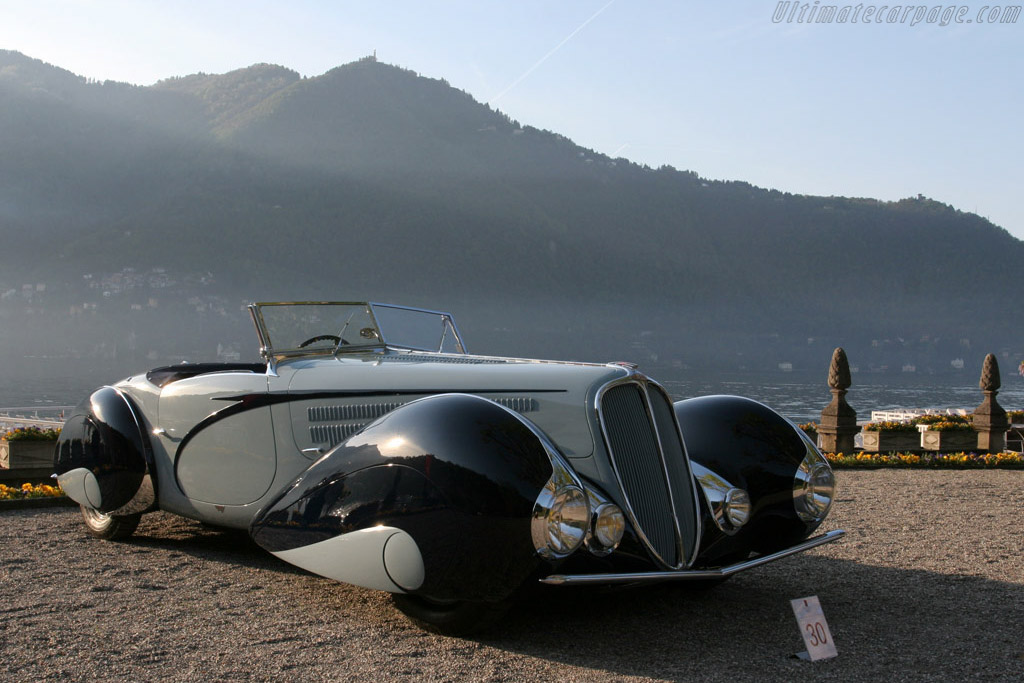 Delahaye 135 M Figoni & Falaschi Roadster    - 2008 Concorso d'Eleganza Villa d'Este