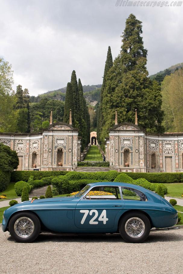 Ferrari 166 MM Touring Le Mans Berlinetta - Chassis: 0026M   - 2008 Concorso d'Eleganza Villa d'Este