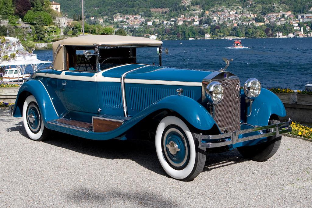 Isotta Fraschini 8A Castagna Roadster - Chassis: 1485   - 2008 Concorso d'Eleganza Villa d'Este