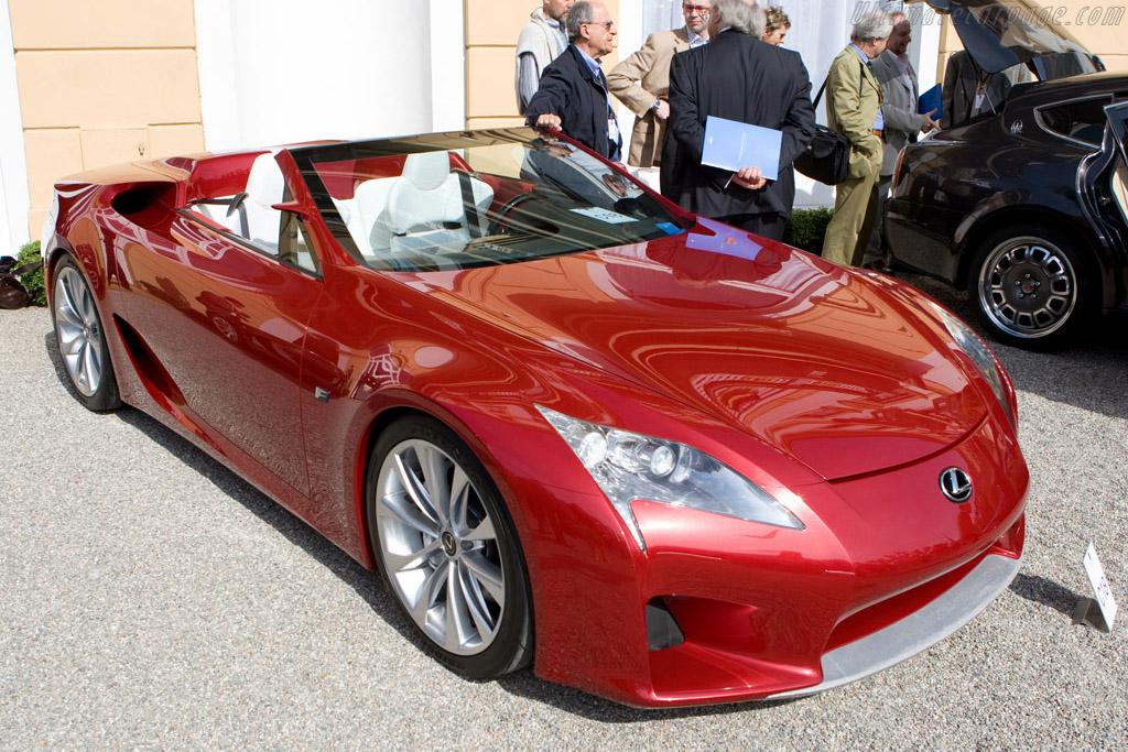 Lexus LF-A Concept    - 2008 Concorso d'Eleganza Villa d'Este