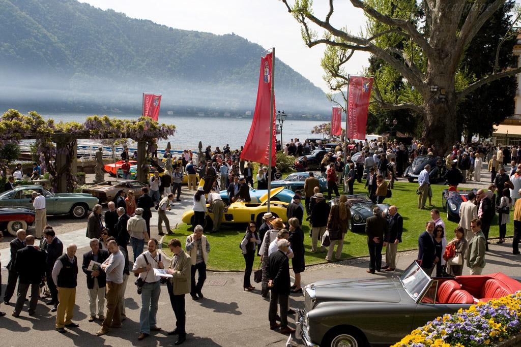 Welcome to Villa d'Este    - 2008 Concorso d'Eleganza Villa d'Este