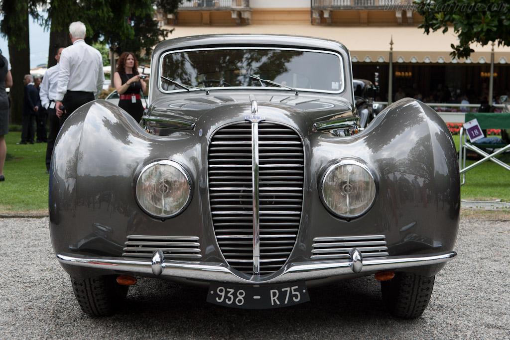 Delahaye 145 Chapron Coupe    - 2012 Concorso d'Eleganza Villa d'Este
