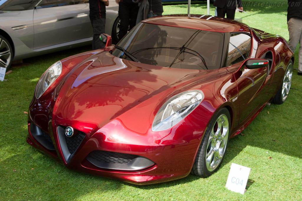 Alfa Romeo 4C Concept    - 2012 Concorso d'Eleganza Villa d'Este