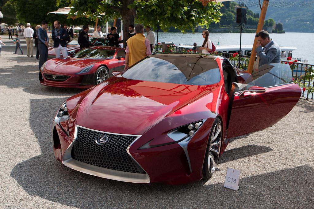 Lexus LF-LC    - 2012 Concorso d'Eleganza Villa d'Este