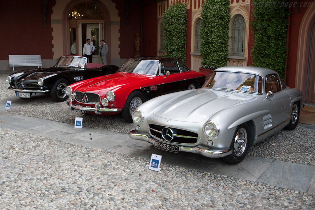 Mercedes-Benz 300 SL - Chassis: 198.040.6500021   - 2012 Concorso d'Eleganza Villa d'Este