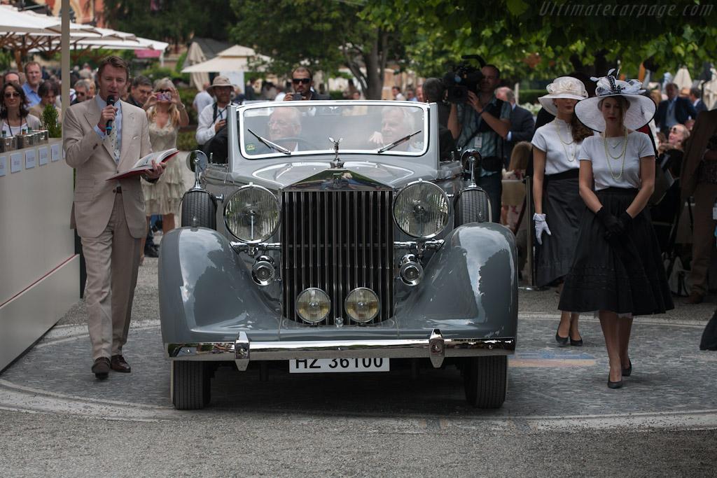 Rolls-Royce Phantom III Voll & Ruhrbeck Cabriolet - Chassis: 3BT187   - 2012 Concorso d'Eleganza Villa d'Este