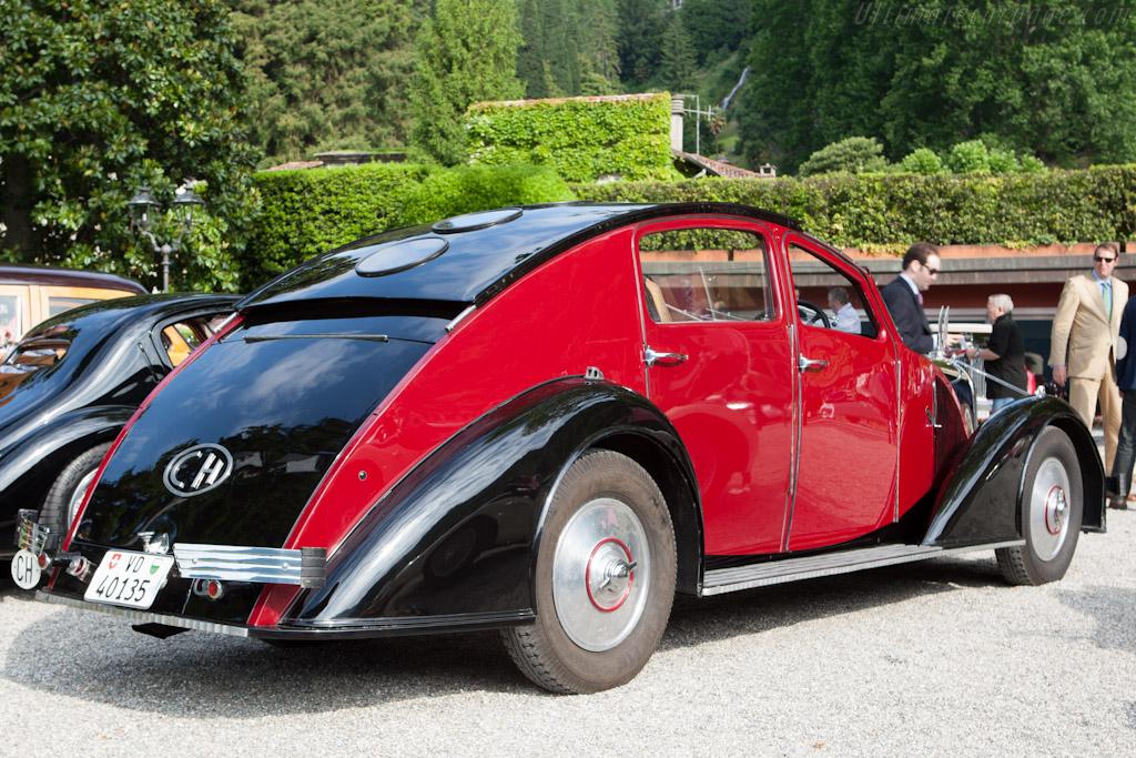Voisin C25 Aerodyne - Chassis: 50002   - 2012 Concorso d'Eleganza Villa d'Este