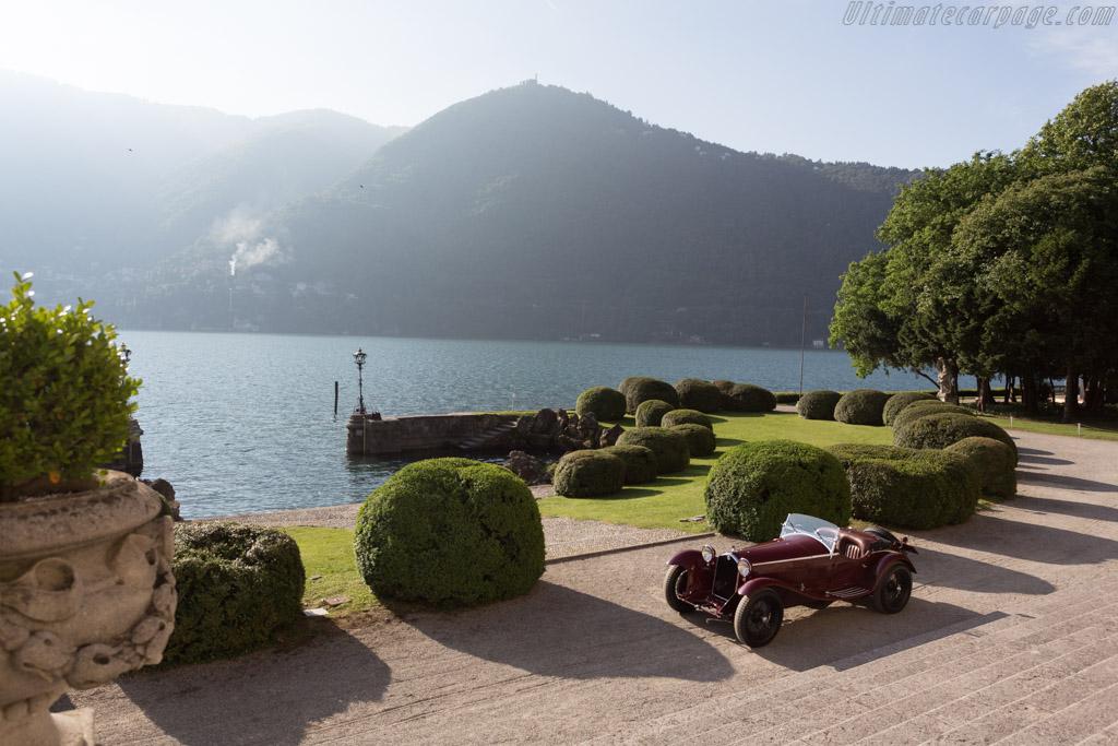 Alfa Romeo 8C 2300 Zagato Spider - Chassis: 2211052 - Entrant: David and Giny Sydorick  - 2015 Concorso d'Eleganza Villa d'Este