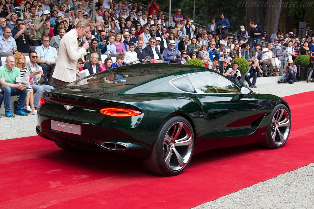 Bentley EXP10  - Entrant: Bentley Motors  - 2015 Concorso d'Eleganza Villa d'Este