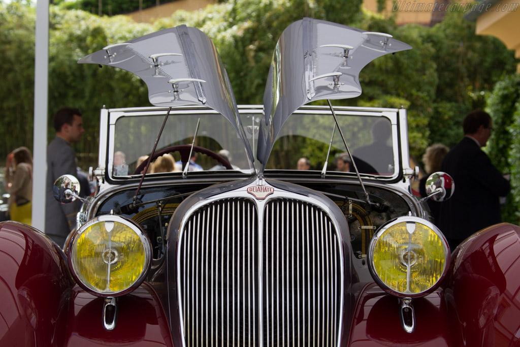 Delahaye 135M Figoni & Falaschi Cabriolet - Chassis: 800308 - Entrant: Jacques Dayez  - 2015 Concorso d'Eleganza Villa d'Este