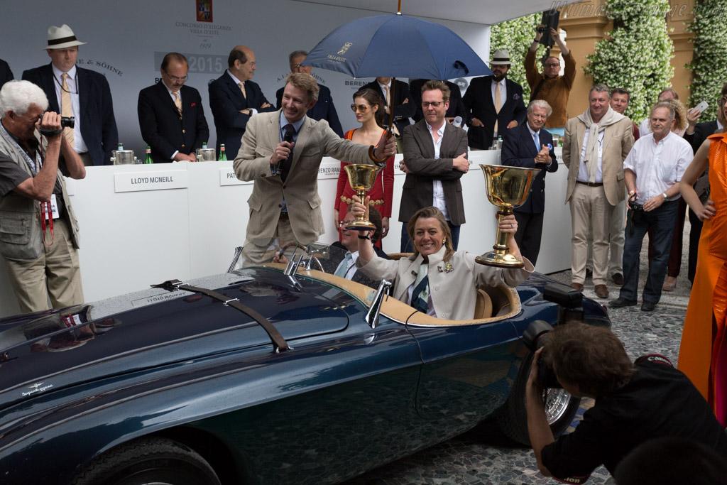 Ferrari 166 MM Touring Barchetta - Chassis: 0064M - Entrant: Clive Beecham  - 2015 Concorso d'Eleganza Villa d'Este