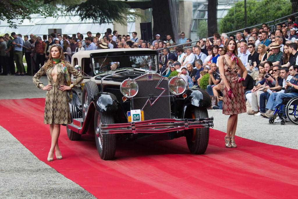 Isotta Fraschini 8A SS Castagna Convertible - Chassis: 1578 - Entrant: Karol Pavlu  - 2015 Concorso d'Eleganza Villa d'Este