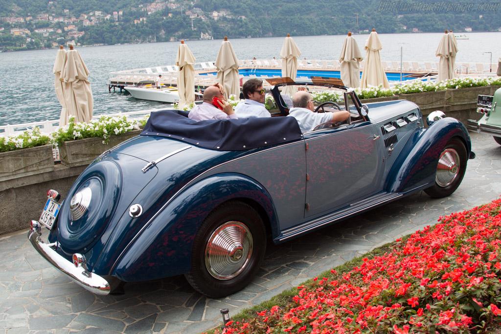 Lancia Astura Stabilimenti Farina Cabriolet - Chassis: 33-3369 - Entrant: Giuseppe Bruni  - 2015 Concorso d'Eleganza Villa d'Este