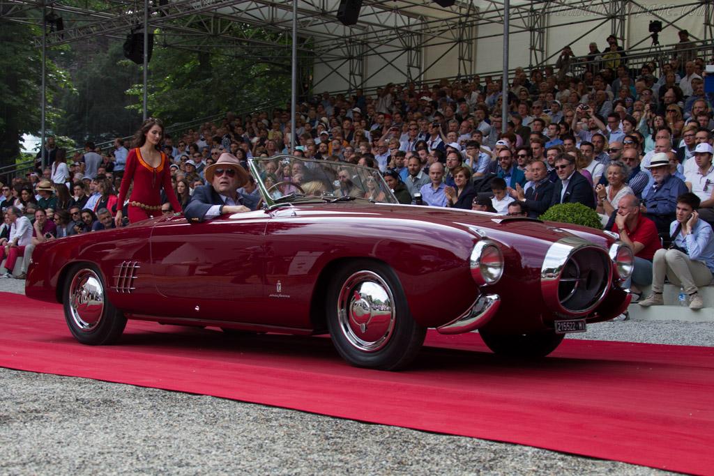 Lancia B52 Pinin Farina Spider - Chassis: B52-1052 - Entrant: Orin Smith  - 2015 Concorso d'Eleganza Villa d'Este