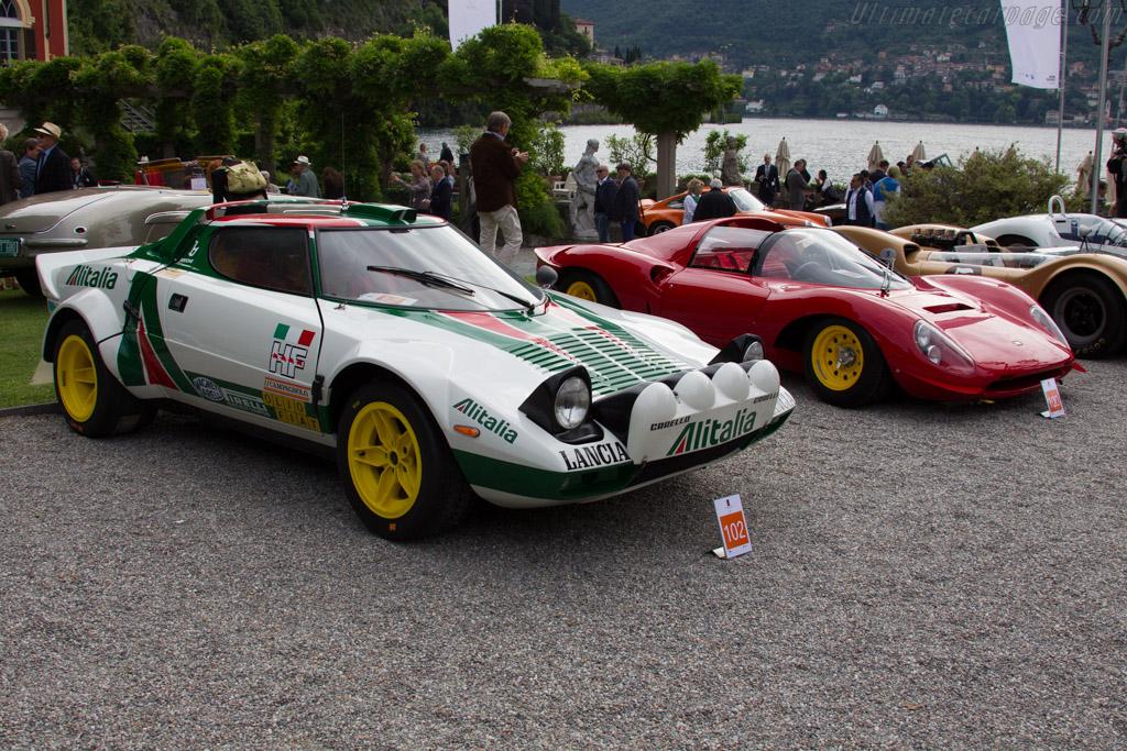 Lancia Stratos HF Group 4 - Chassis: 829AR0 001580 - Entrant: Stefano Macaluso  - 2015 Concorso d'Eleganza Villa d'Este