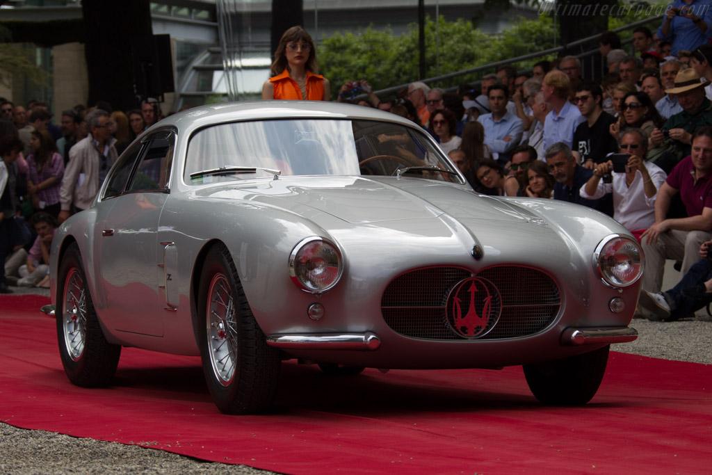 Maserati A6G54 2000 Zagato Coupe - Chassis: 2124 - Entrant: Jim Utaski  - 2015 Concorso d'Eleganza Villa d'Este