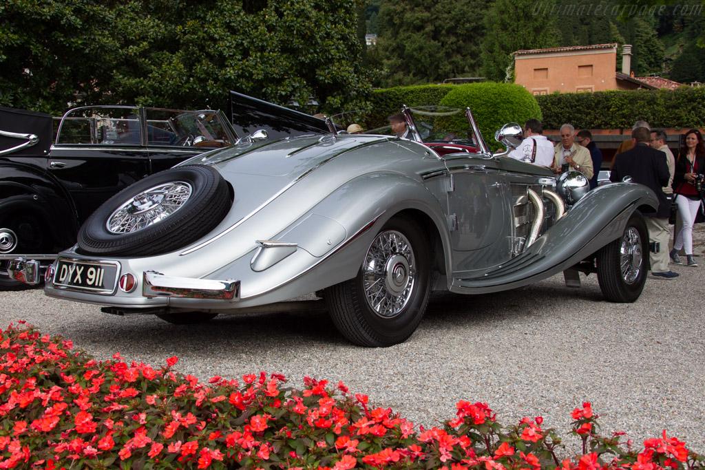 Mercedes-Benz 540 K Spezial Roadster - Chassis: 154086 - Entrant: Michael Kaufman  - 2015 Concorso d'Eleganza Villa d'Este