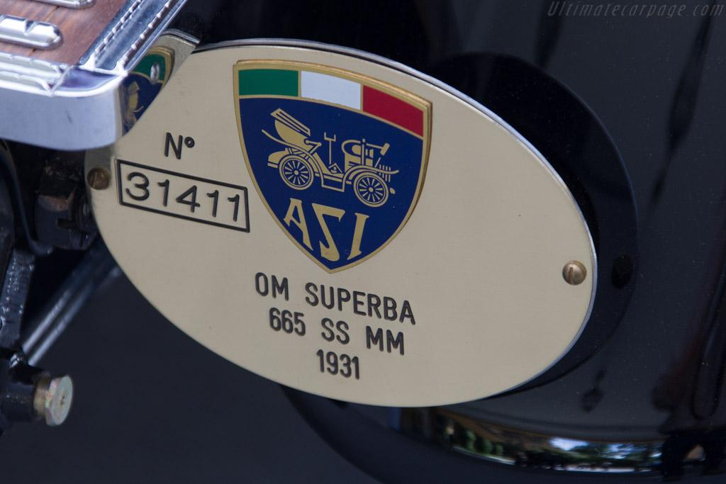 OM Superba 665 SS MM - Chassis: 665108 - Entrant: Silvia Nicolis  - 2015 Concorso d'Eleganza Villa d'Este