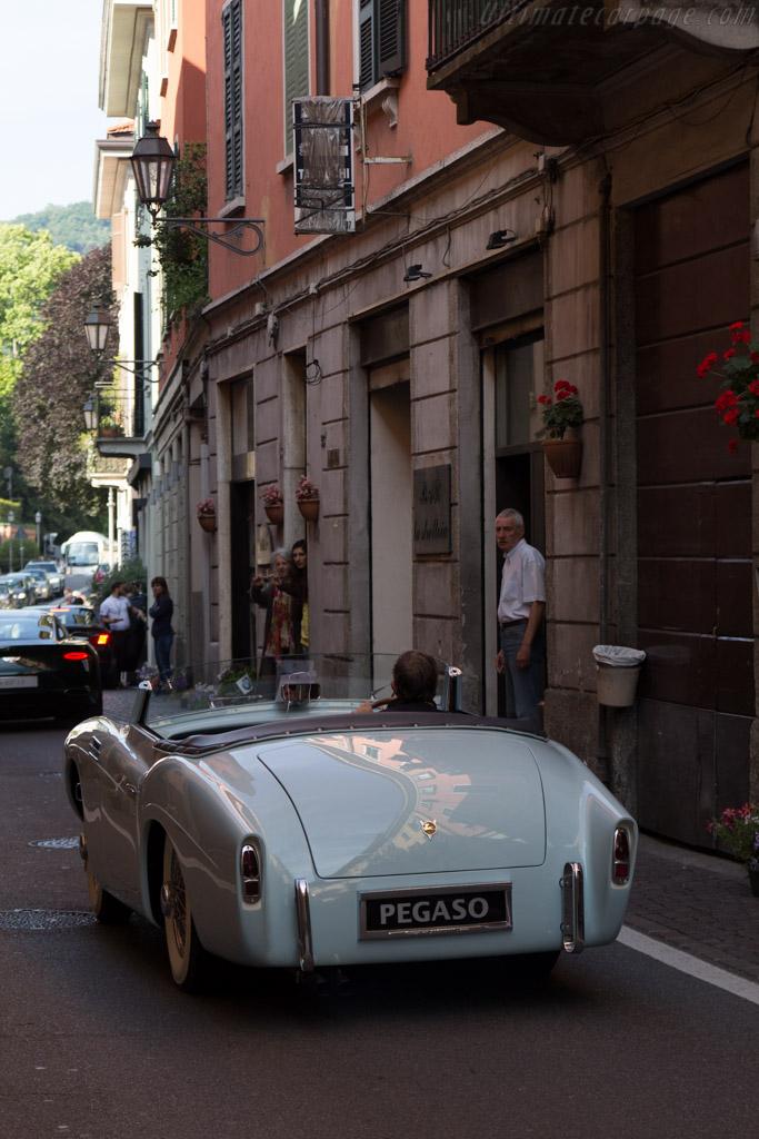 Pegaso Z102 Saoutchik Cabriolet - Chassis: 0102.153.0136 - Entrant: Fritz Kaiser  - 2015 Concorso d'Eleganza Villa d'Este