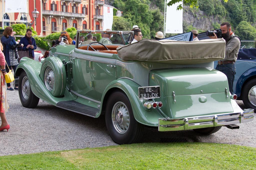 Pierce Arrow 1242 Le Baron Convertible Sedan - Chassis: 310018 - Entrant: Arnold Kawlath  - 2015 Concorso d'Eleganza Villa d'Este