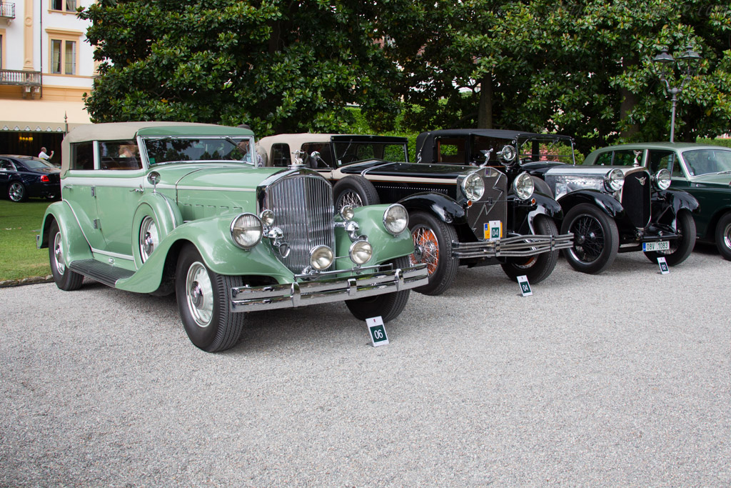 Pierce Arrow 1242 Le Baron Convertible Sedan - Chassis: 310018 - Entrant: Arnold Kawlath  - 2015 Concorso d'Eleganza Villa d'Este