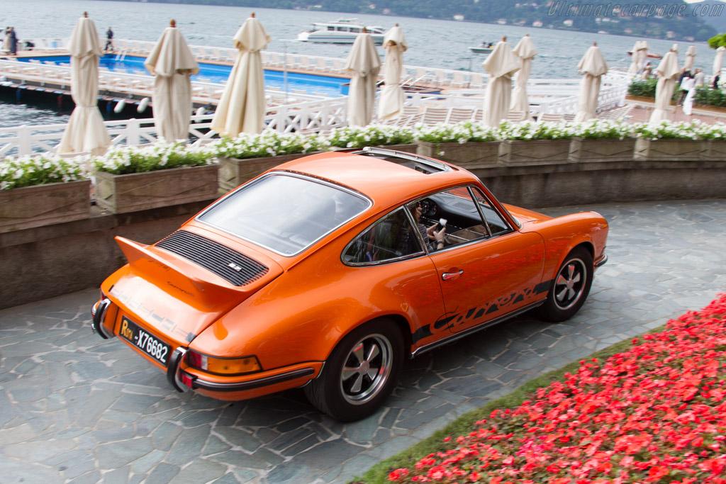 Porsche 911 Carrera RS 2.7 - Chassis: 911 360 1376 - Entrant: Mauro Bertocchi  - 2015 Concorso d'Eleganza Villa d'Este
